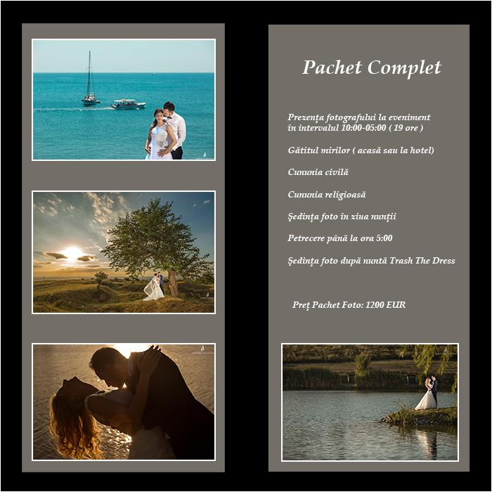 Pachet fotografii nunta iasi album fotografii